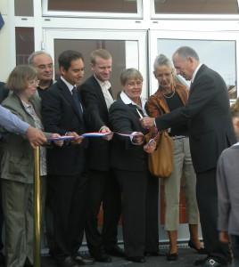 Inauguration de l'école de la Sabliere
