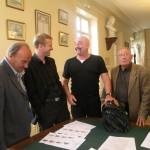 Avec Alain Le Quellec, Flesh Gordon et André Pinon pour le choix des combats