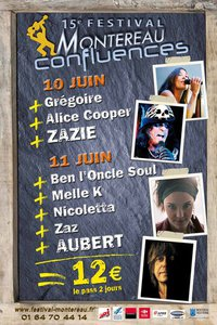 Affiche du 15ème Festival Montereau Confluences